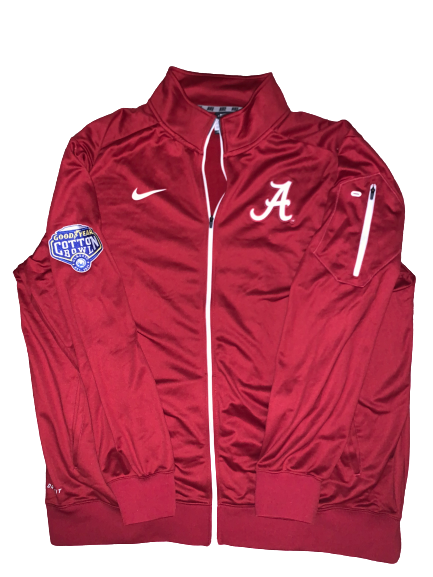 Dallas Warmack Alabama Team Issued Official Cotton Bowl Jacket with Patch (Size XXXL)