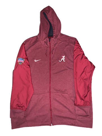 Dallas Warmack Alabama Team Issued Official Sugar Bowl Jacket with Patch (Size XXL)