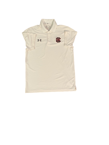 Mon Denson South Carolina Team Issued Polo Shirt (Size M)