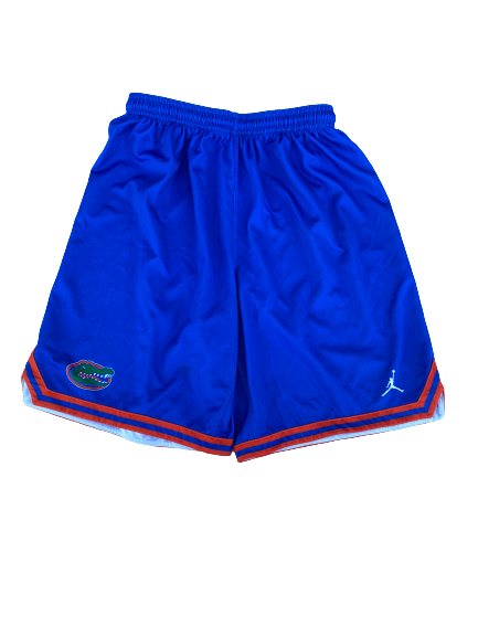Scottie Lewis Florida Basketball Practice Shorts (Size L)