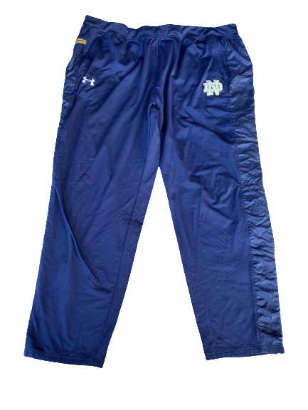 Tommy Kraemer Notre Dame Football Team Issued Sweatpants (Size XXXL)