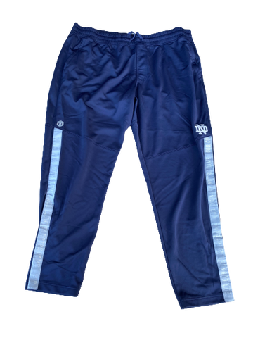 Tommy Kraemer Notre Dame Football Team Exclusive Sweatpants (Size XXXL)