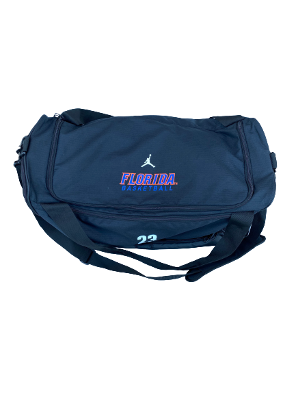 Scottie Lewis Florida Basketball Player-Exclusive Duffel Bag With Name and Number