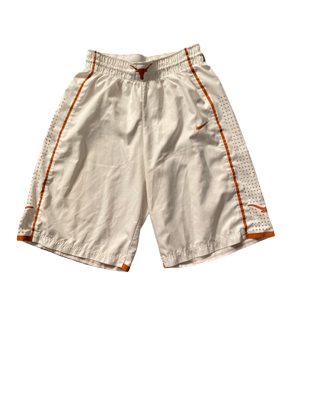 Joe Schwartz Texas Basketball 2015-2016 Season Game Worn Shorts (Size 36)
