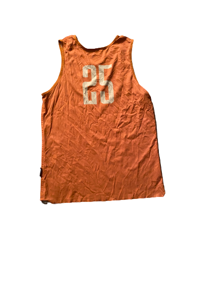 Joe Schwartz Texas Basketball Reversible Practice Jersey (Size L)