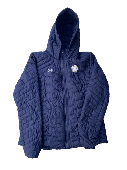 Arike Ogunbowale Notre Dame Team Issued Winter Coat (Size Women's L)