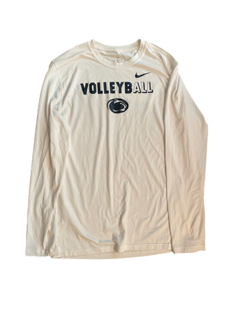 Haleigh Washington Penn State Volleyball Nike Long Sleeve Shirt (Size L)