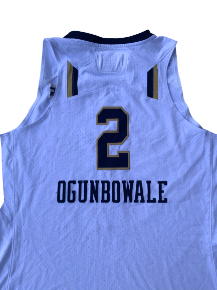 Arike Ogunbowale Notre Dame Game Worn Jersey (Freshman Year) - Photo Matched
