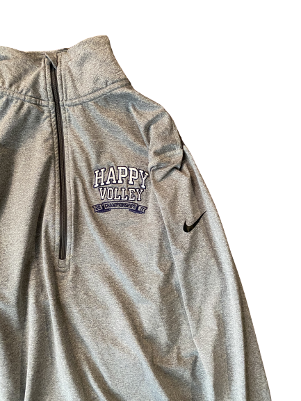 "Haleigh Washington Penn State ""Happy Volley"" Nike 1/4 Zip (Size L)"