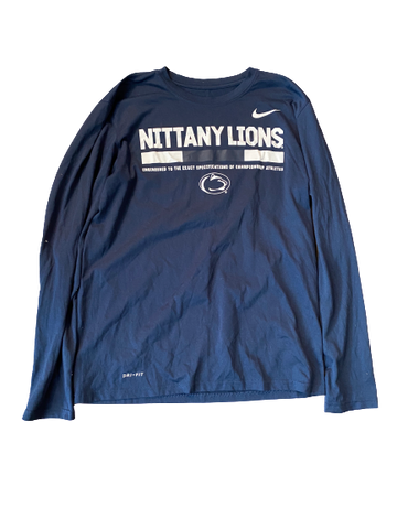 Haleigh Washington Penn State Nike Long Sleeve Shirt With Number On Back (Size M)
