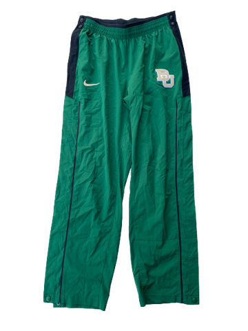 Chloe Jackson Baylor Team Issued Game Warm-Up Tear-A-Way Sweatpants (Size Women's M)