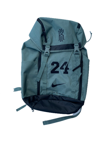 Chloe Jackson Baylor Team Issued Kyrie Irving Backpack with #24