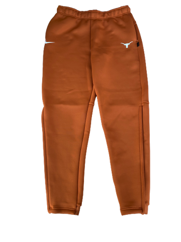 Jack Geiger Texas Football Team Issued Travel Sweatpants (Size M)