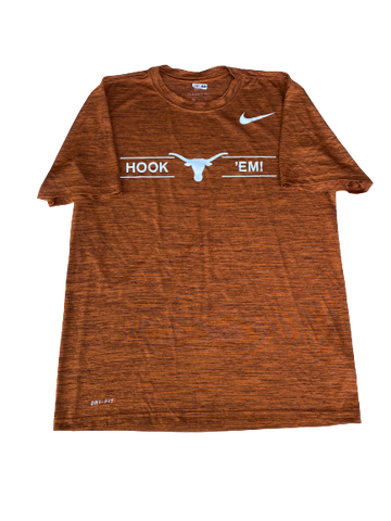 Jack Geiger Texas Football Team Issued Workout Shirt (Size M)