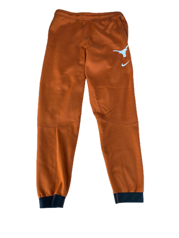 Jack Geiger Texas Football Team Exclusive Travel Sweatpants (Size L)