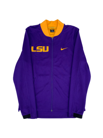 Tremont Waters LSU SIGNED Team Exclusive Pre-Game Warm-Up Jacket (Size M)