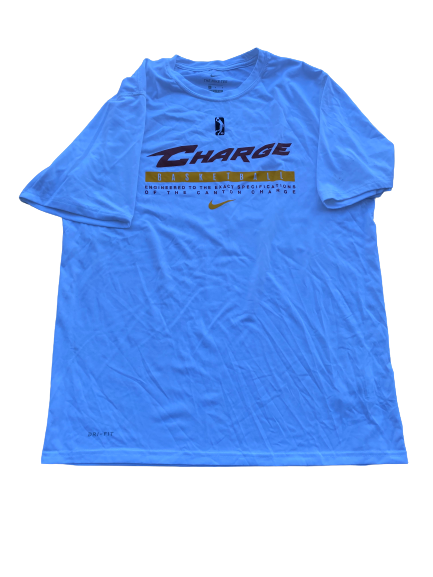 Charles Matthews Canton Charge Team Issued Workout Shirt (Size L)