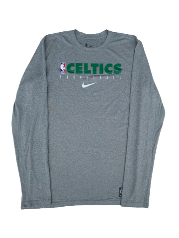 Tremont Waters Boston Celtics Team Issued Long Sleeve Shirt (Size M)