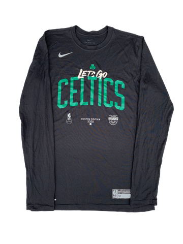 Tremont Waters Boston Celtics 2020 Playoffs Team Exclusive Shooting Shirt (Size MT)