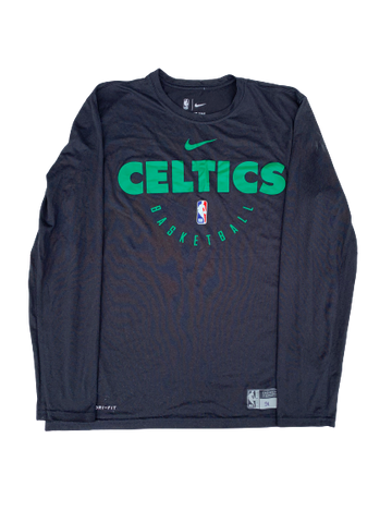 Tremont Waters Boston Celtics Team Exclusive Long Sleeve Shirt (Size M)