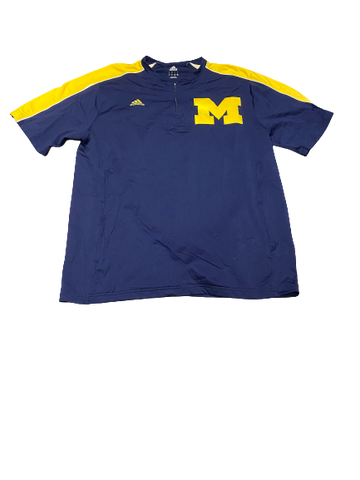 Harrison Wenson Michigan Baseball Batting Practice Shirt (Size L)