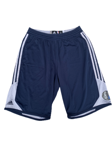Rayvonte Rice Dallas Mavericks Team Issued Workout Shorts (Size XL)