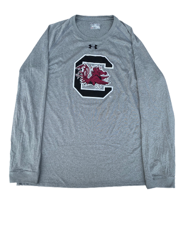 Nick McGriff South Carolina Football Player Exclusive Long Sleeve Shirt (Size XXL)