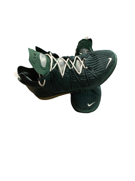 Aaron Henry Michigan State Basketball Player Exclusive Shoes (Size 15)
