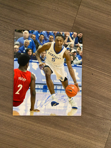 Immanuel Quickley Autographed 8x10 Photo