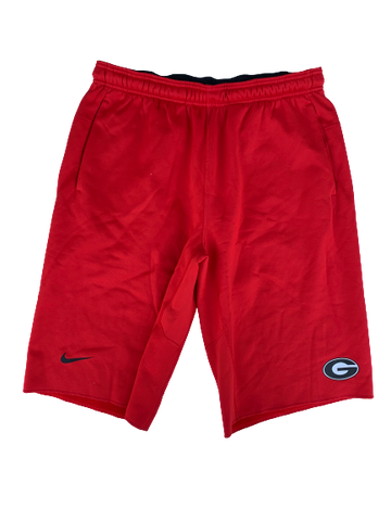 Tyler Simmons Georgia Nike Sweat Shorts (Size L)