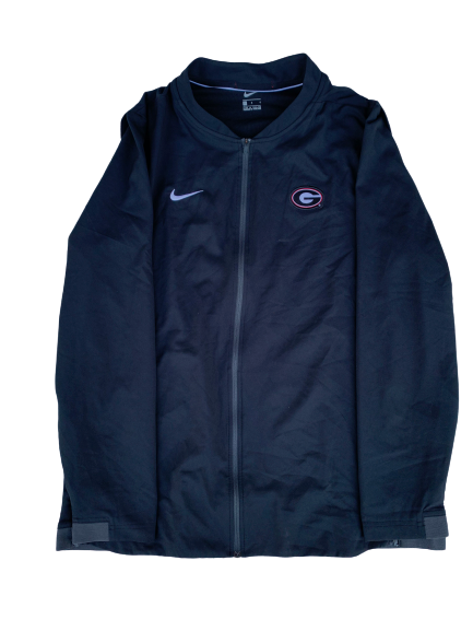 Tyler Simmons Georgia Nike Zip-Up Jacket (Size L)