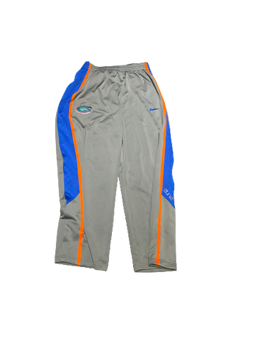 Chris Walker Florida Team Issued Snap-Off Sweatpants (Size XXL)