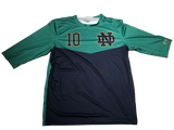 Jake Singer Notre Dame Team Exclusive 1/2 Sleeve Practice Jersey