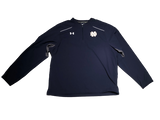 Jake Singer Notre Dame Team Exclusive Dark Blue Quarter-Zip Pullover (With #10 on back)