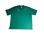 Jake Singer Notre Dame Team Exclusive Green Quarter-Zip Pullover (With #10 on back)