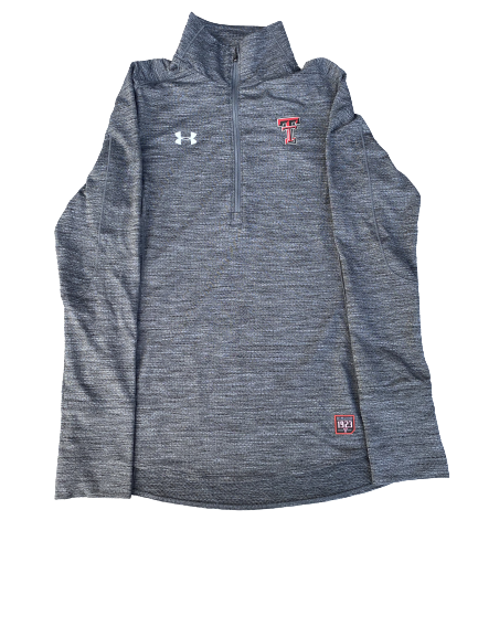 Monica Robinson Daly Texas Tech Quarter-Zip Pullover (Size S)