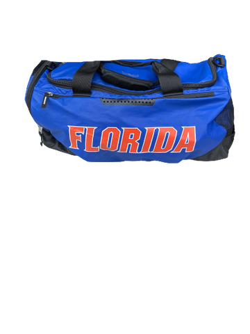 Mark Herndon Florida Football Team Exclusive Travel Duffel Bag with Player Tag