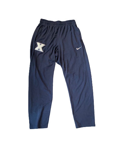 Quentin Goodin Xavier Team Issued Sweatpants (Size XL)