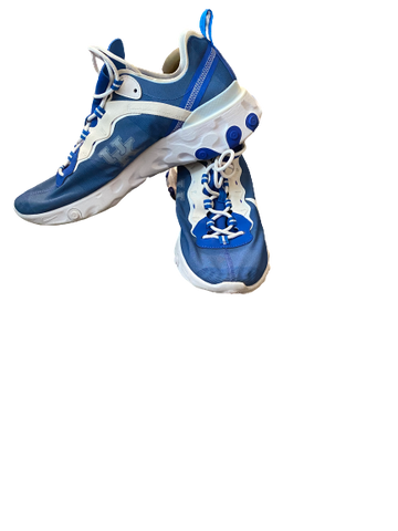 Immanuel Quickley Kentucky Team Issued Nike 55 React Element Sneakers (Size 13)
