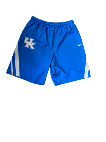 Immanuel Quickley Kentucky Team Exclusive Practice Shorts (Size L)
