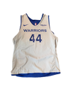 Brandon Sampson Golden State Warriors Team Issued Reversible Practice Jersey (Size L)