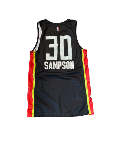 Brandon Sampson Atlanta Hawks 2018 Summer League Game Worn Jersey