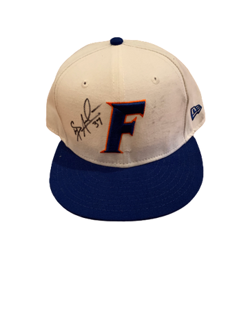 Shaun Anderson Florida Baseball Signed Game Worn Hat