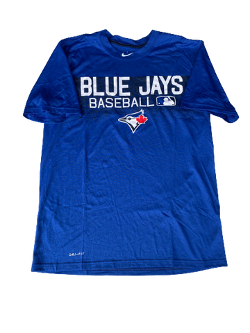 Scotty Bradley Toronto Blue Jays Team Issued Shirt (Size M)