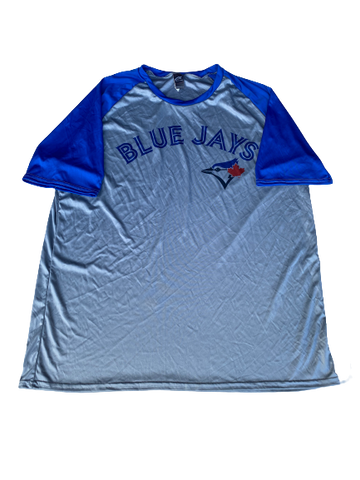 Scotty Bradley Toronto Blue Jays Team Issued Shirt (Size XXL)
