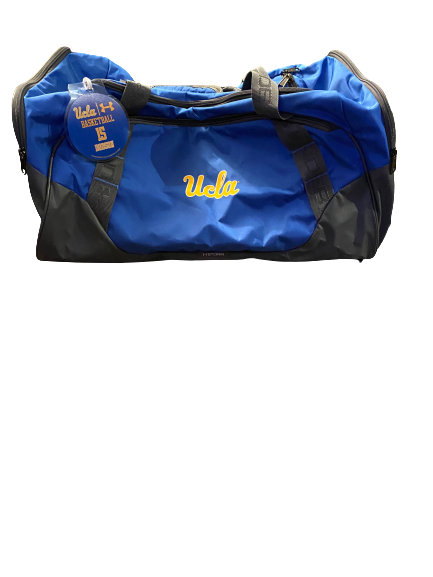 Armani Dodson UCLA Under Armour Travel Duffle Bag With Player Tag