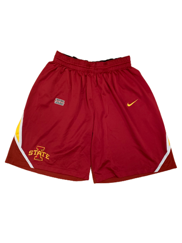 Georges Niang Iowa State 2012-2013 Game Worn Shorts (Size 40)
