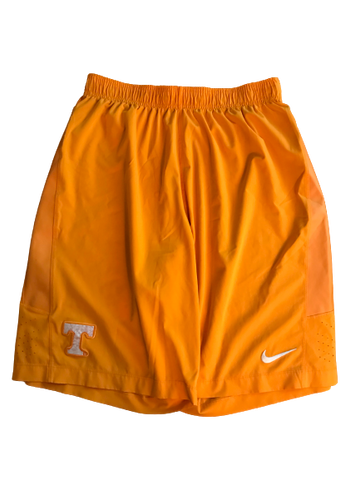 Lamonte Turner Orange Tennessee Nike Shorts