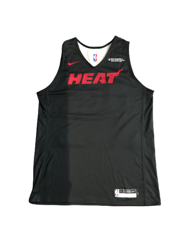 Markis McDuffie Miami Heat Team Issued Reversible Workout Jersey
