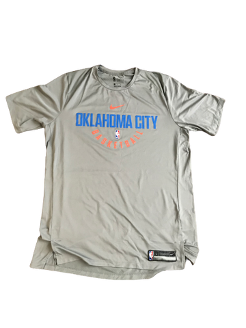Markis McDuffie Oklahoma City Thunder Team Issued Workout Shirt